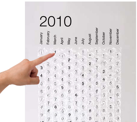 2010 Balonlu Naylon Takvim