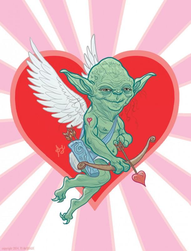 Aşk Tanrısı Yoda