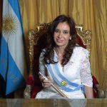 Arjantin Devlet Başkanı Cristina Fernández de Kirchner