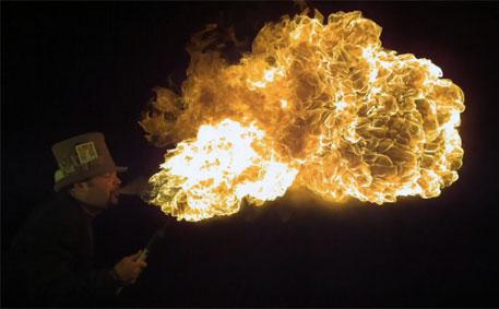 Ateş Püskürtme Sanatı