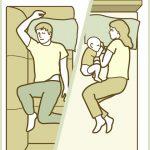 "Baby Sleep Positions ""The Dog House"""