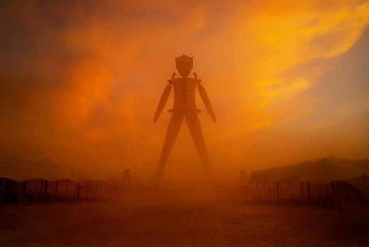 Burning Man 2014-17