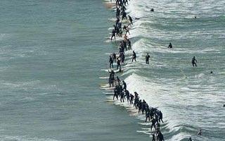 Cape Town Birlikte Sörf Rekoru