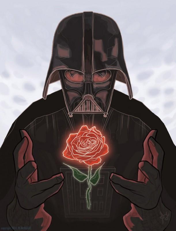 Darth Vader Gül