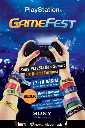 GameFest PlayStation Festivali