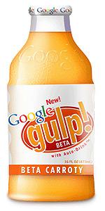 Google Gulp Orange