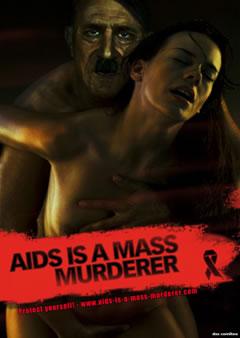 Hitler Dünya Aids Günü Kampanyası