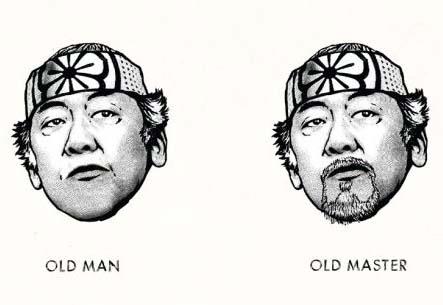 Yaşlı Adam-Yaşlı Usta