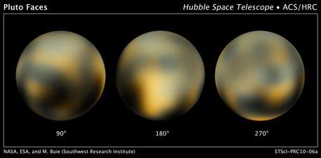 Pluto'nun En Detaylı Fotoğrafları