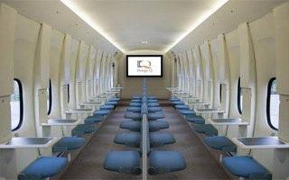 Uçaklarda Yüz Yüze Oturma Düzeni-Design Q