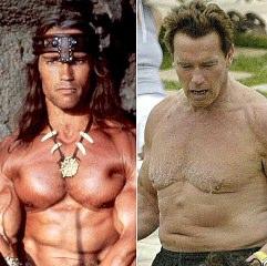 Yaşlı Arnold Schwarzenegger