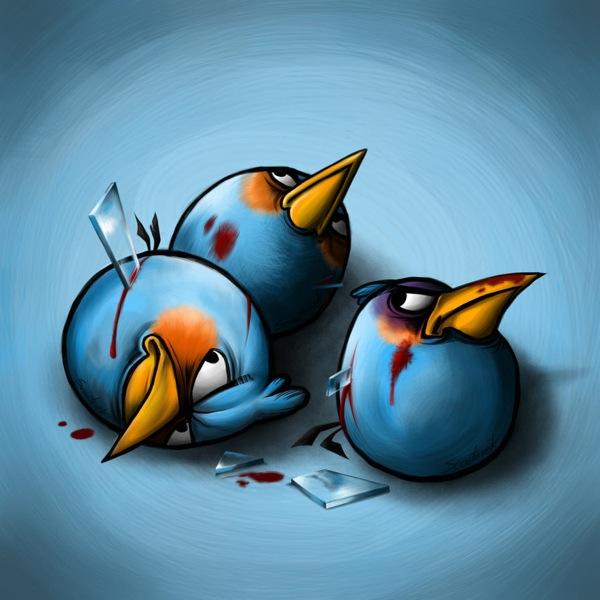 Mavi Kızgın Kuş - Blue Angry Bird