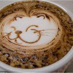 Cheshire Kedi, Kahve, Sanat