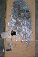 Çividen Leonardo Da Vinci Portresi