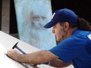 Çividen Leonardo Da Vinci Portresi-Saimir Strati
