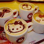 Hello Kitty, Kahve, Sanat