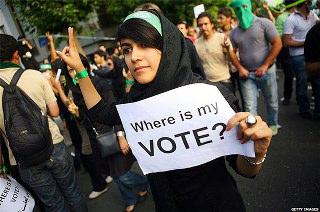 İran-Benim Oyum Nerede?