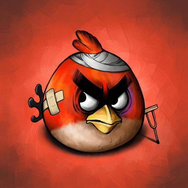Küçük Kırmızı Kızgın Kuş - Red Angry Bird