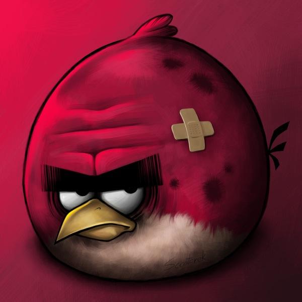 Büyük Kırmızı Kızgın Kuş - Big Red Angry Bird