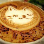 Gülümseyen Kedi, Kahve, Sanat
