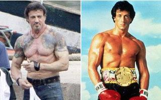 Sylvester Stallone 62 Yaşında Hala Zinde